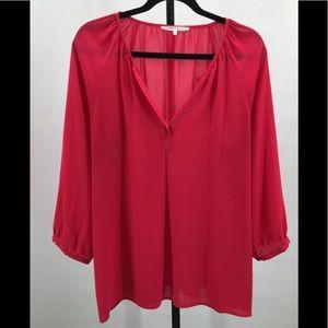 Violet & Claire pink blouse size XL